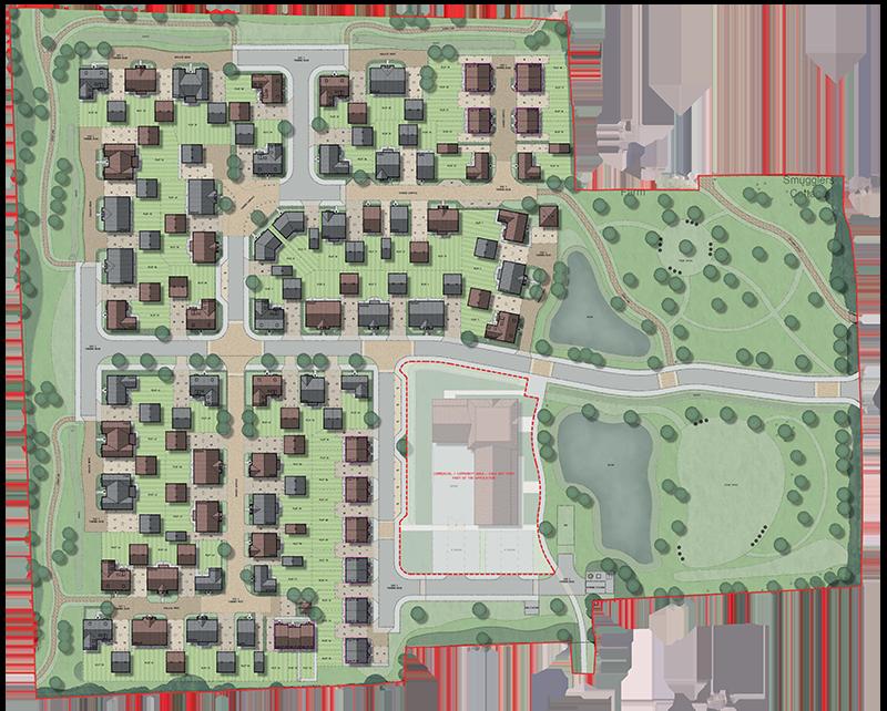75 homes in North Fambridge by David Wilson Homes